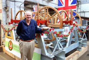 Ypres Bells talk at Chelsfield