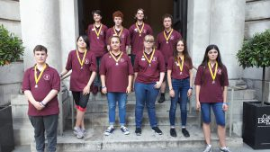 Kent Young Ringers in London RWNYC 7th July 2018
